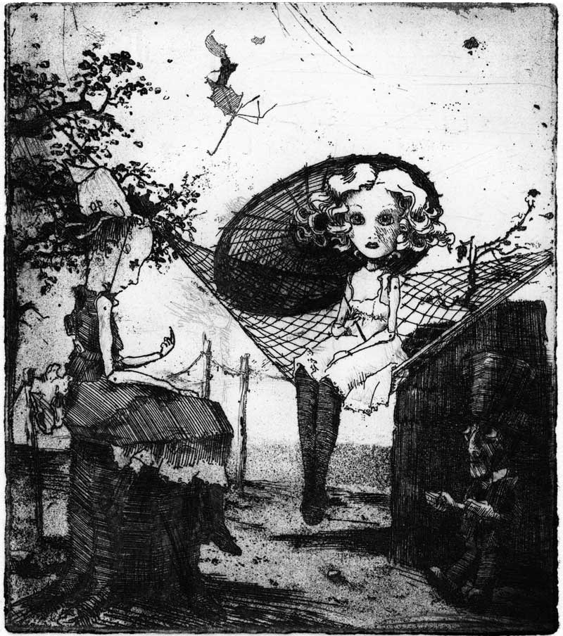 etching, Little Koshnik